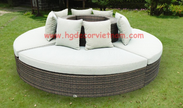 Vietnam poly rattan furniture