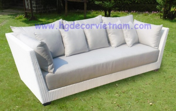 3 seater sofa with sunbrella cushion