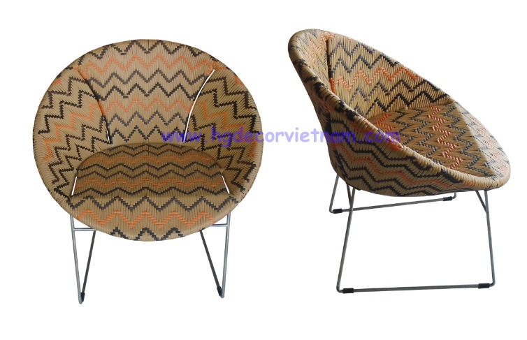 New rattan Zigzag chair