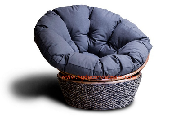 Water hyacinth relax chair