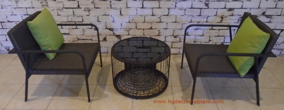 New design poly rattan chair