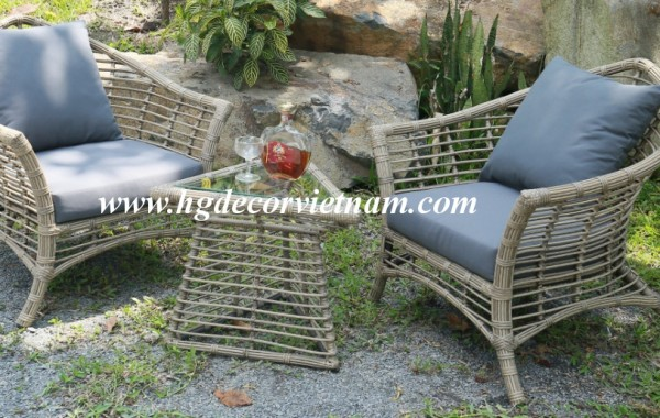 New design wicker lounge